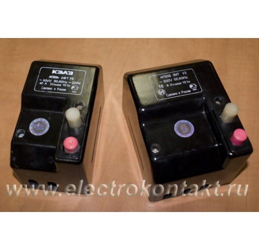 Автомат АП-50Б-3МТ Номинальный коммутируемый ток от 1,6 до 4А